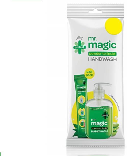 Godrej Protekt Mr magic handwash 9 g refill Pack of 10 Hand Wash Pouch
