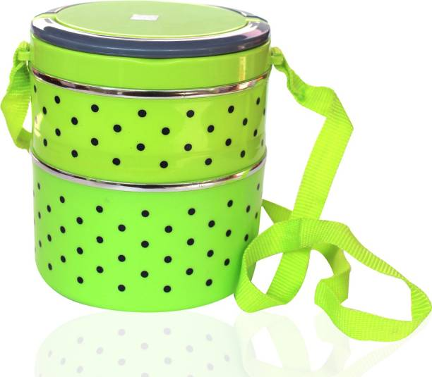 WHITEIBIS INSULATED Lunch Box 2 Containers Lunch Box
