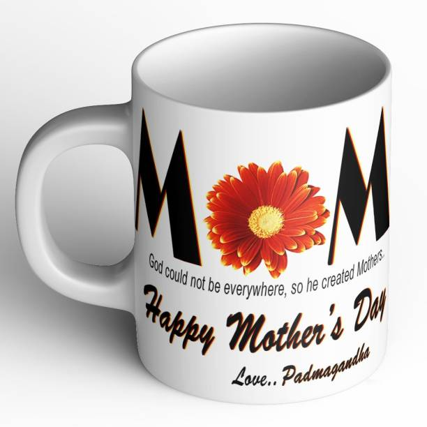 Abaronee Padmagandha Happy mothers day quote m016 Ceramic Coffee Mug