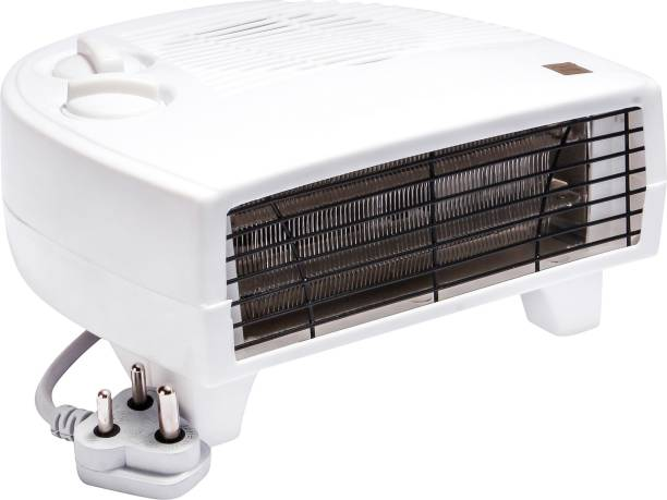 Enamic UK Fan Heater Heat Blow || Silent Fan Room Heater (White) || with 1 Season Warranty || PL -111 Fan Room Heater