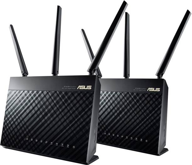 ASUS RT-AC68U (2 Pack) 1900 Mbps Gaming Router