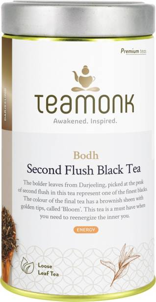 Teamonk Bodh Second Flush Black Tea Tin