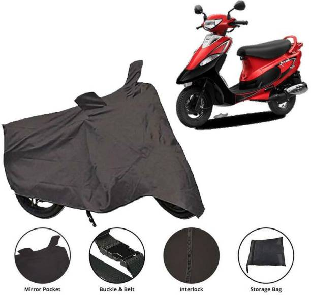 Satyam Collections Two Wheeler Cover for TVS