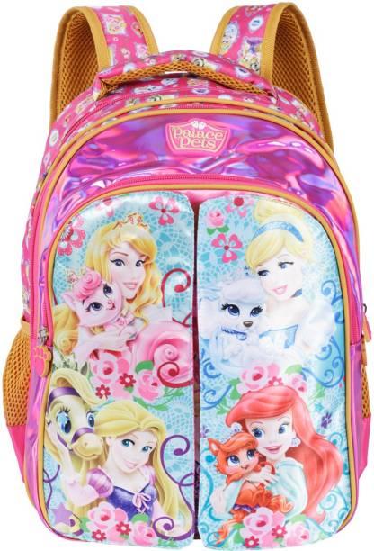 Disney Princess Pre-School Palace of Pets Flap 36cm Nursery (LKG/UKG/1st std) School Bag