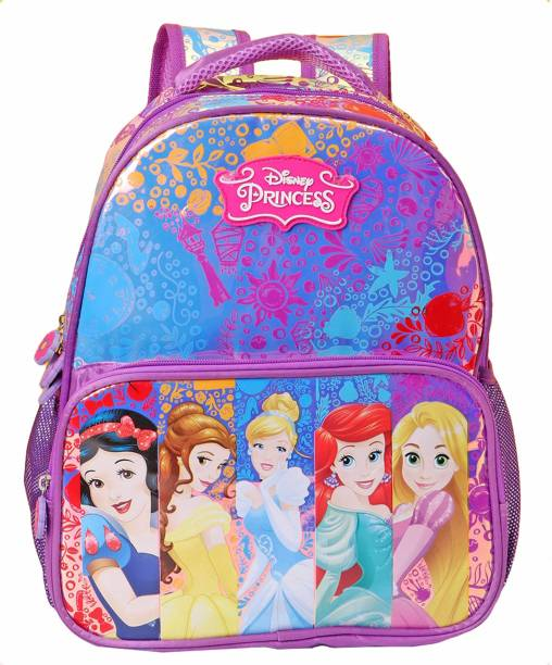 Disney Princess Holographic 41cm Primary (Primary 1st-4th Std) School Bag