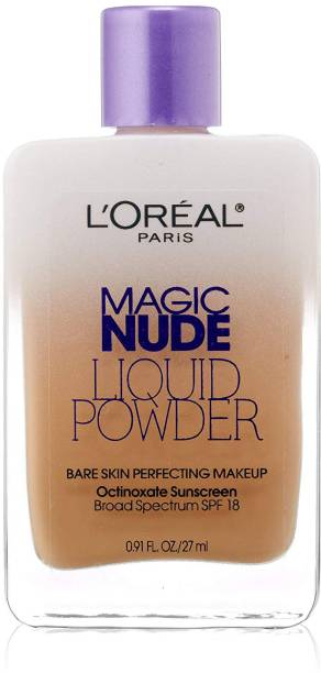 L'Oréal Paris Magic Nude Liquid Powder Bare Skin Perfecting Makeup Spf 18, Compact