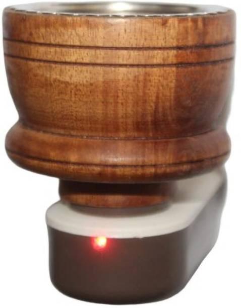 MDTL Wooden aroma kapoor burner Wooden Incense Holder