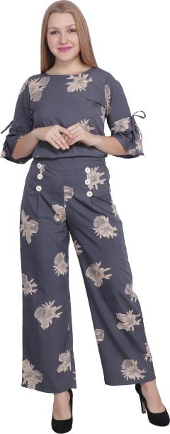 POPWINGS Floral Print Women Jumpsuit