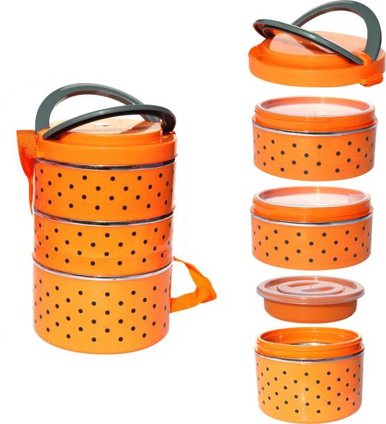 batwada export INSULATED Lunch Box 3 Containers Lunch Box