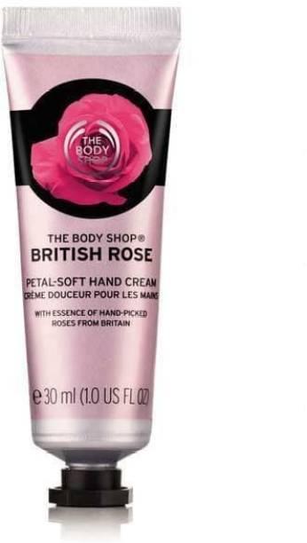 THE BODY SHOP BRITISH ROSE HAND CREAM 30 ML