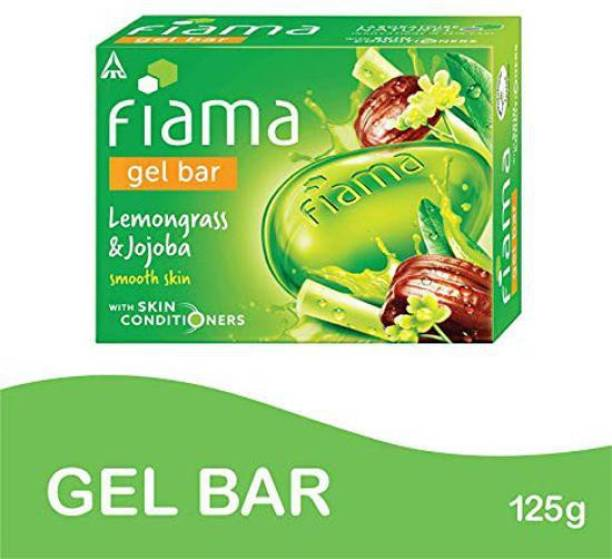 FIAMA Gel Bar Lemongrass And Jojoba Smooth Skin 125g