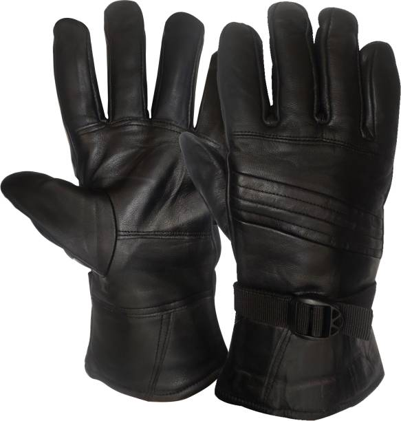 NIKROKZ SUPER WARM,COMFORTABLE LEATHER GLOVES-887 Riding Gloves