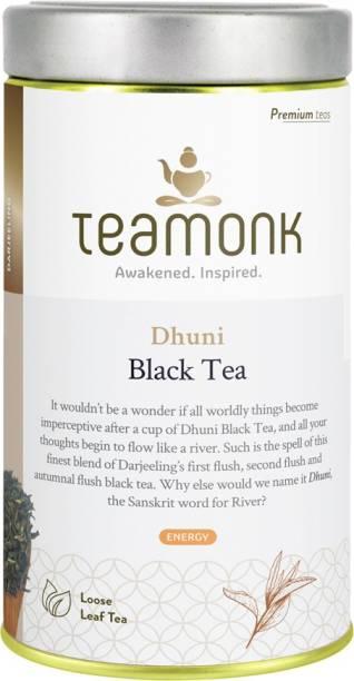 Teamonk Darjeeling Dhuni Unflavoured Black Tea Tin
