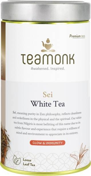 Teamonk Sei White Tea Tin