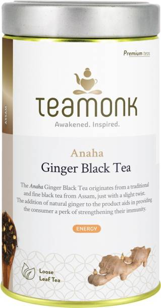 Teamonk Anaha Assam Ginger Black Tea Tin