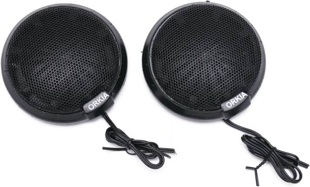 Electronicspices Car Tweeter Piezo Electric Super High Frequency Speaker Pair For Audio speaker DOME Car Tweete Set of 2 Tweeter Car Speaker