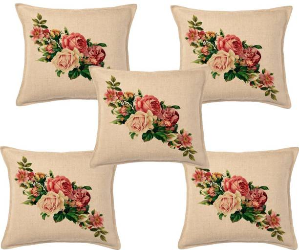 Desi Kapda Floral Cushions Cover