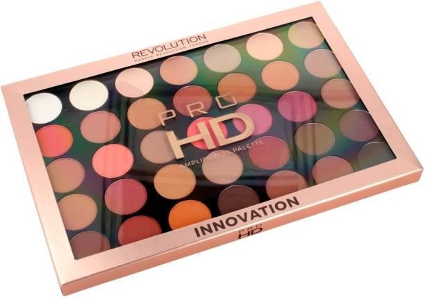REVOLUTION Pro HD Amplified 35 Palette (Eyeshadow), Innovation, 28g 28 g