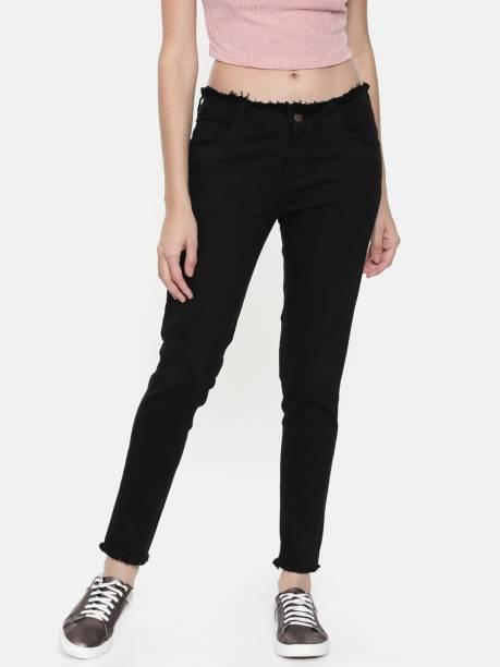 ZHEIA Skinny Women Black Jeans