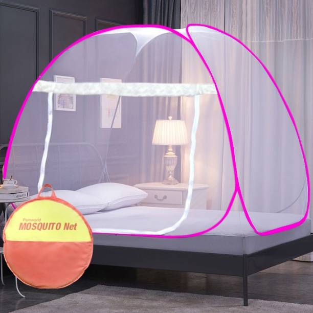 pamworld Polyester Kids mosquito net foldable double bed Mosquito Net