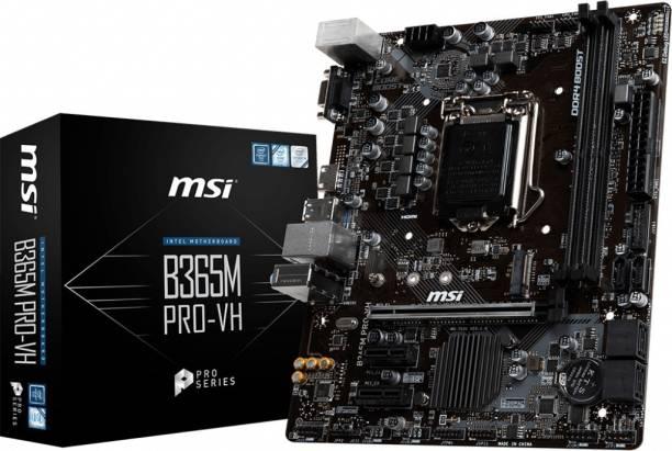 MSI B365M PRO-VH Mini-ATX LGA1151 Gaming Motherboard