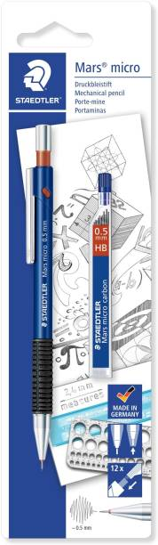 STAEDTLER Graphite 775 ABKD Mars Micro 0.5mm(With Leads) Mechanical Pencil