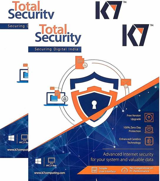K7 Total Security 2 User 1 Year