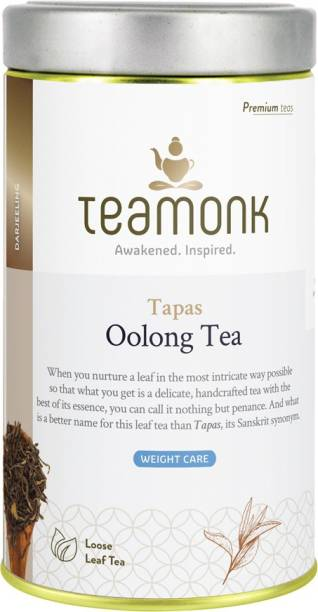 Teamonk Tapas Darjeeling Oolong Tea Tin