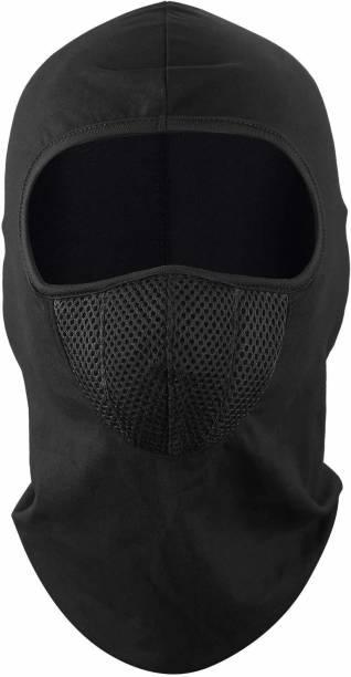 zaysoo Black Bike Face Mask for Men & Women