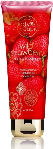 Body Cupid Wild Strawberry Shower Gel 200ML Tube