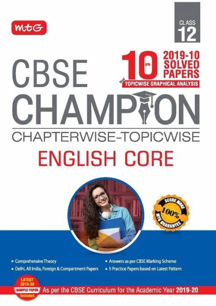 10 Years Cbse Champion Chapterwise-Topicwise - English Core Class-12