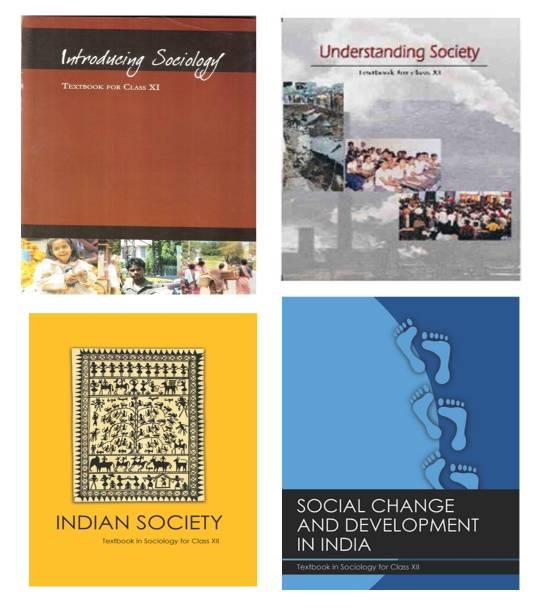NCERT Sociology Textbook Combo Set XI-XII 4 Booklets English Medium(Image Problem)
