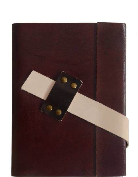 Coronal Leather Journals Nice Big Belt for Closer A5 Notebook Unruled 200 Pages