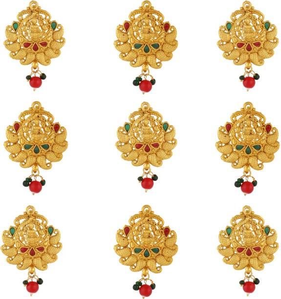 Sanjog Southern Bling Heavily Hair Jewelery Choti Jadai Billai Indian Hair pin Hair Decoration Hair Pin