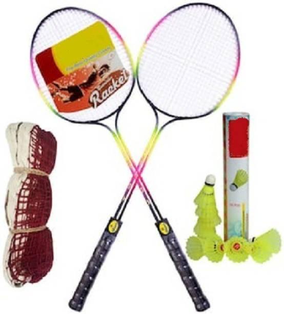 SBM Practice Cotton Badminton Kit Badminton Kit
