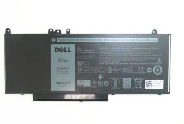 DELL 6MT4T ORIGINAL Battery for Latitude E5450 E5470 E5550 E5570 Latitude E5450 E5470 E5270 Latitude 3160 Precision 3510 Series 0HK6DV 079VRK TXF9M 0TXF9M 79VRK 07V69Y 7V69Y 6MT4T DP/N's: 7V69Y; TXF9M; 79VRK , 06MT4T 62Wh 0G5M10, 0WYJC2, 451-BBLN 4 Cell Laptop Battery