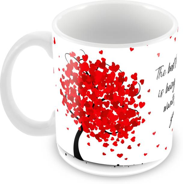 "Tuelip ""Best Feeling In The World"" Printed for tea & coffee Ceramic Coffee Mug"
