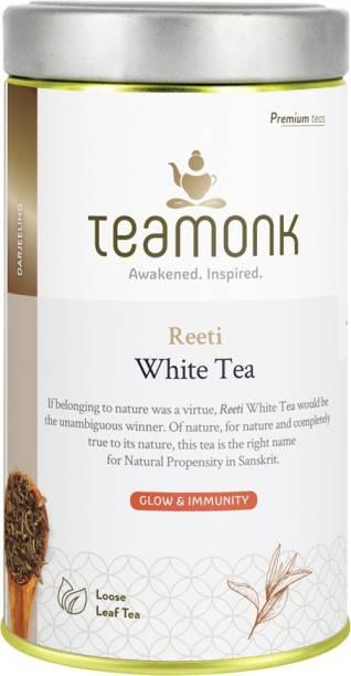 Teamonk Reeti Darjeeling White Tea Tin