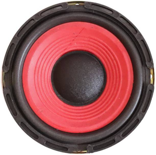 Electronicspices Speaker Sound Bass 5'' inch red Coaxial Car Speaker