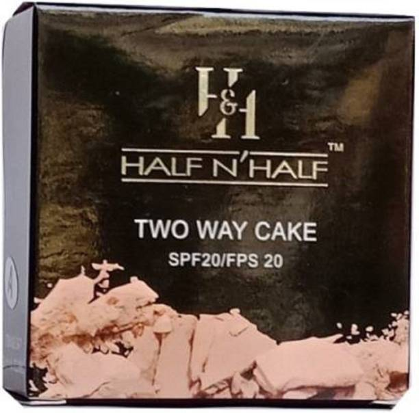 Half N Half TWO WAY CAKE POWDER Compact