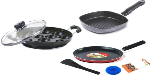 4Pcs//set 1:12 Dollhouse miniature metal cooking pan pot kitchen cookware VU