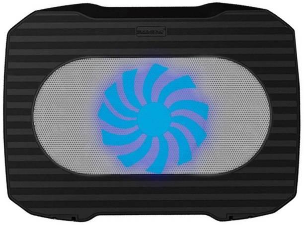 LipiWorld Gaming Laptop Cooling Pads Ultra Slim USB Laptop Cooler pad Single Fan (k15) 1 Fan Cooling Pad