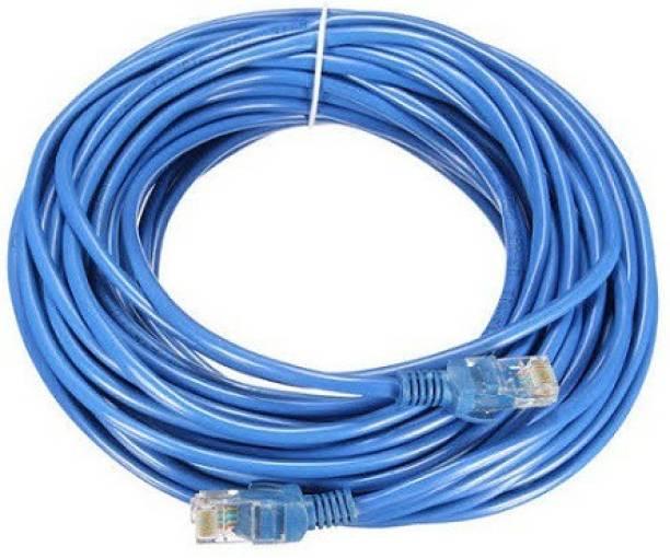 techut 20 Meters CAT 6 Ethernet Cable Lan Network CAT6 Internet Modem RJ45 Patch Cord 20 m LAN Cable