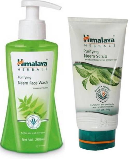 HIMALAYA Purifying Neem  & Neem Scrub Face Wash