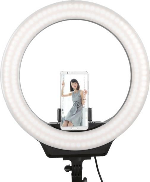 "MEMOTA LED Ring Light 10"" with Cell Phone Holder Ring Flash Ring Flash"