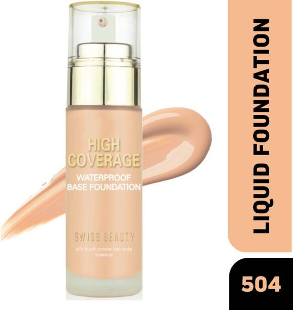 SWISS BEAUTY HIGH COVERAGE WATERPROOF FOUNDATION SB-05 (Shade-04) Foundation