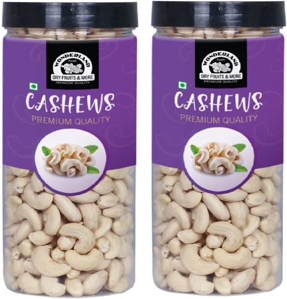 WONDERLAND Foods Premium Whole -W240 Cashew Nuts (Better Quality Than W270) Cashews