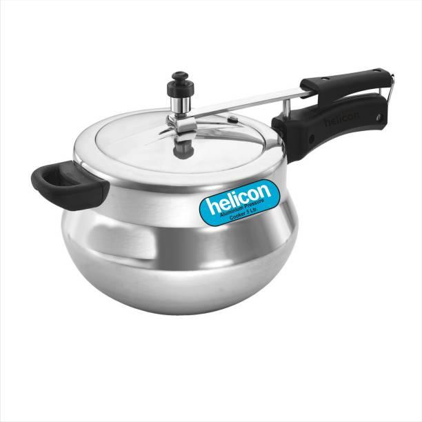 helicon PremiumAluminium Handi Shape 5 L Pressure Cooker