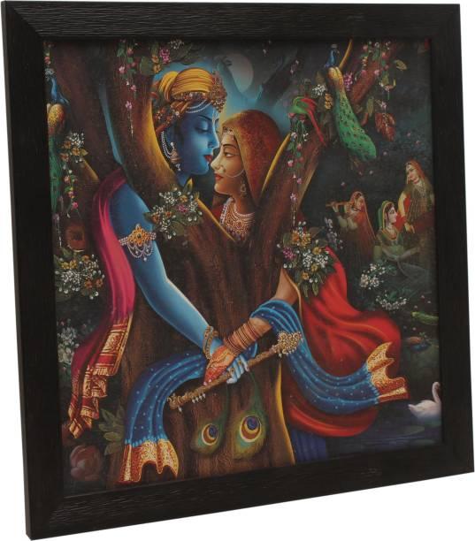 TS NANDA Radha Krishna Religious Frame