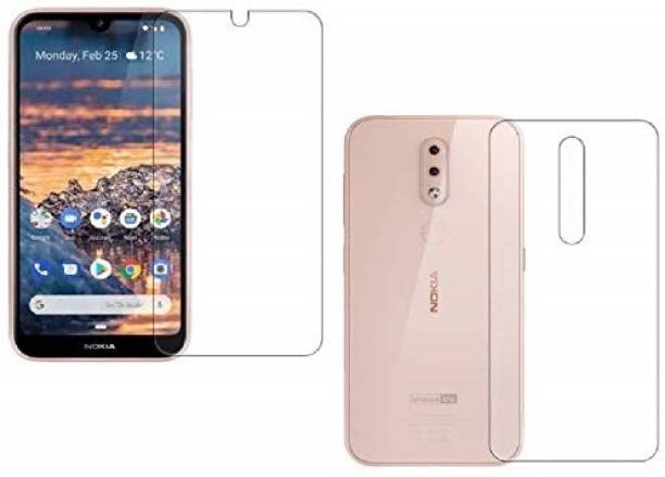 Zootkart Front and Back Screen Guard for Nokia 4.2